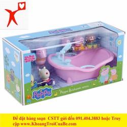 Món quà sinh nhật dễ thương-Peppa Pig Bồn Tắm