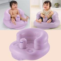 Ghế hơi tập ngồi cho bé bơm tự động