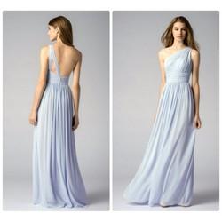 Đầm dạ hội thiết kế lệch vai sang trọng