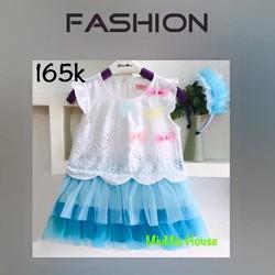 Đầm công chúa xinh tuoi cho bé