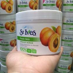 Tẩy tế bào chết toàn thân St Ives Apricot Scrub Fresh Mỹ