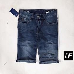 Quần ngố jeans mài rách cao cấp