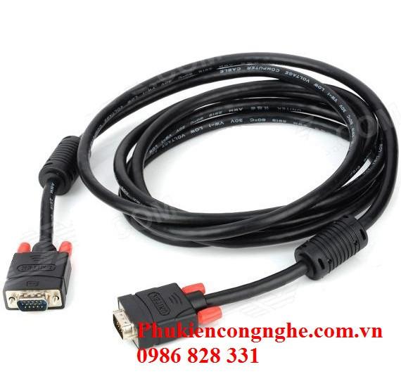 Cáp VGA 1.5m chính hãng Unitek Y-C503A 1