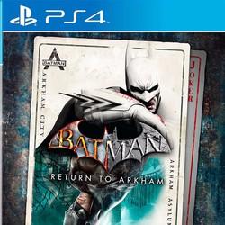 Đĩa game Batman: Return to Arkham - Playstation 4