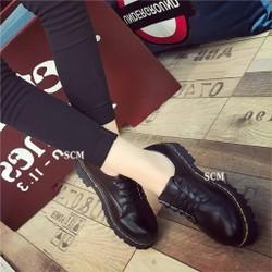 Giày Oxford trơn đế Dr | giày oxford nữ Mary Jane