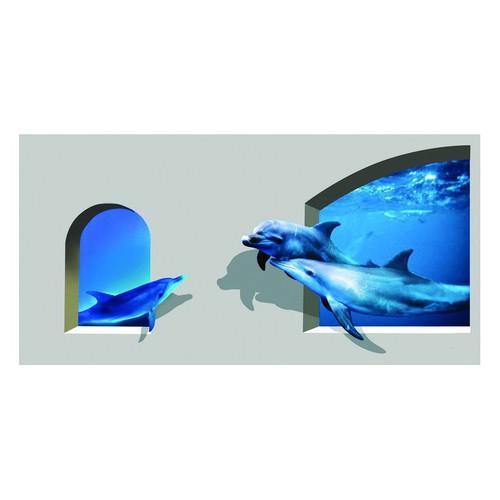 DECAL 3D TRANG TRÍ TƯỚNG 120X60+