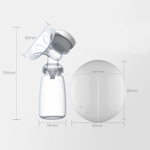 Máy hút sữa điện đôi Real Bubee UK 6