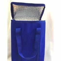 Túi giữ nhiệt vải không dệt hình hộp đứng 22x13x30cm xanh dương