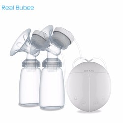 Máy hút sữa điện đôi Real Bubee