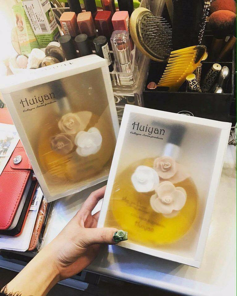 Sữa tắm hương nước hoa Huiyan nhập khẩu pháp 400ml 2