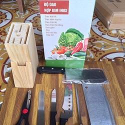 Bộ dụng cụ nhà bếp 7 món dao kéo thông minh