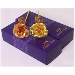 hoa hồng 24k tặng kèm chữ Love