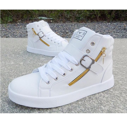 Giày bata nam cao cổ phối dây kéo thời trang HC1300