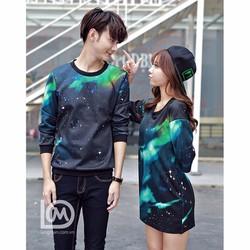 Áo cặp in 3D Nam nữ