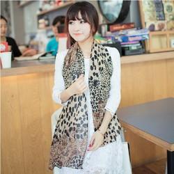 Khăn voan nữ hoạ tiết dễ thương thời trang xinh xắn WJ-W005