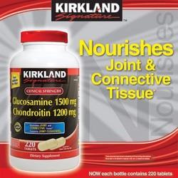 Bổ Xương Khớp - Glucosamine Chondroitin 220 viên - Kirkland USA