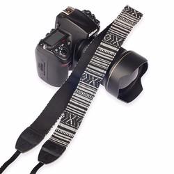 Dây đeo máy ảnh kiểu thổ cẩm