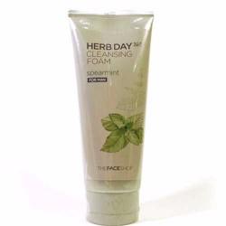 Sữa Rửa Mặt Nam Herb Day 365 Cleansing Foam Spearmint The FaceShop