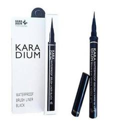 Bút kẻ mắt Karadium Waterproof Brush Liner Black