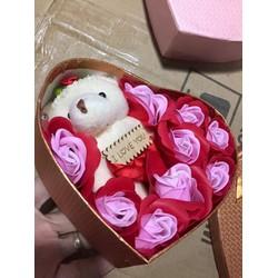 Hoa sáp trái tim Valentine 14-2