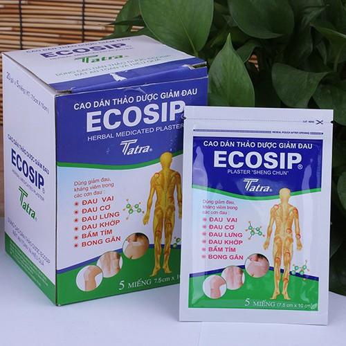 cao dán thảo dược giảm đau ecosip - 4150260 , 4848519 , 15_4848519 , 15000 , cao-dan-thao-duoc-giam-dau-ecosip-15_4848519 , sendo.vn , cao dán thảo dược giảm đau ecosip