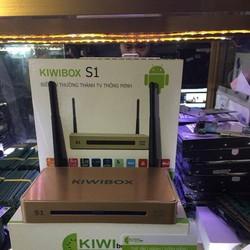 Android Tivi Kiwibox S1 Ram 1GB 2 ăngten