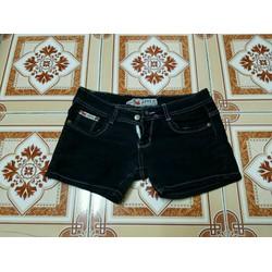 thanh lý quần short jean đen