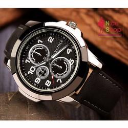 Đồng hồ nam Yazole kiểu dáng thể thao mạnh mẽ