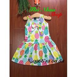 Đầm thun  mùa hè cho bé