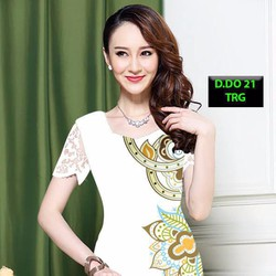 Đầm thun cotton cực chất