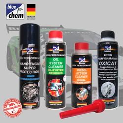 Bộ 5 sản phẩm Bluechem Làm sạch và Bảo vệ Động cơ Diesel toàn diện