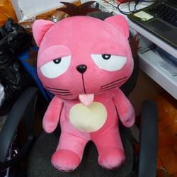 Dinga nhồi bông màu hồng, 60cm