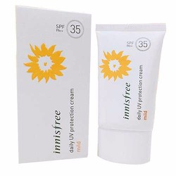 Kem Chống Nắng Innnisfree-Daily UV Protection Cream Mild SPF35