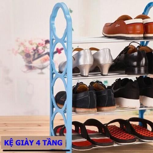 Kệ để giày dép 4 tầng SP317 - 4150405 , 4850428 , 15_4850428 , 100000 , Ke-de-giay-dep-4-tang-SP317-15_4850428 , sendo.vn , Kệ để giày dép 4 tầng SP317