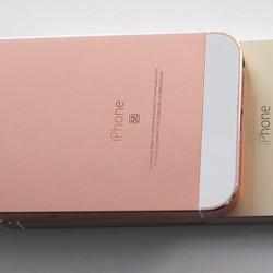 Vỏ Iphone 5 màu hồng giả SE kèm dán CL