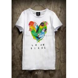 Áo thun love birds 085