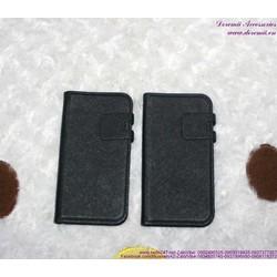 Bao da iphone 5 bật ngang đơn giản bền đẹp OP109