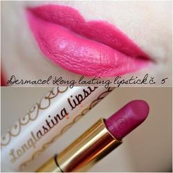 Son Lì Sáp Longlasting Lipstick  Lâu Trôi Mềm Môi màu số 5