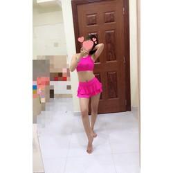 Bikini hồng xinh tươi