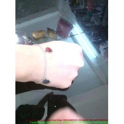 Lắc tay inox hình mèo kitty đáng iu LT40