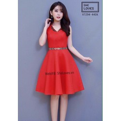Đầm Xòe Dễ Thuong Hot
