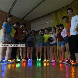 Dây giày phát sáng đèn LED