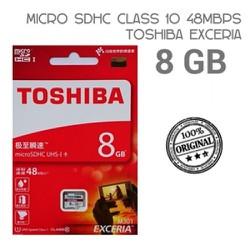 thẻ nhớ Toshiba micro SD 08GB 48MB.s