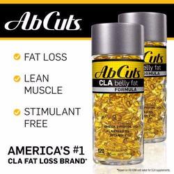 Viên giảm cân AbCut CLA Belly Fat Formula, 120 viên