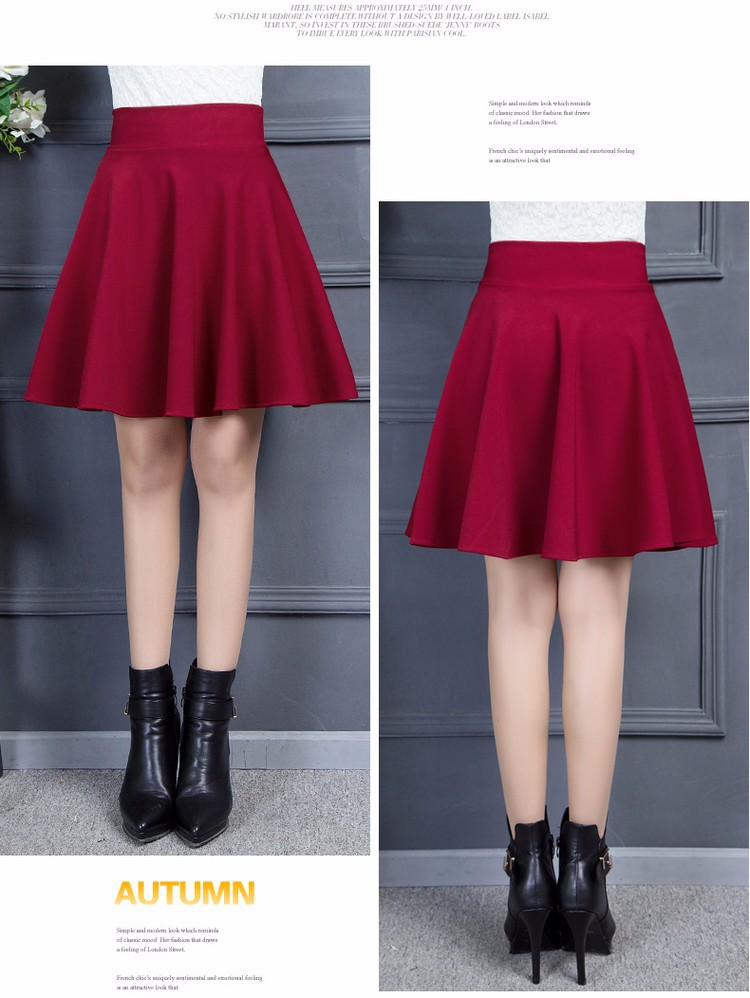 Chân váy xòe đẹp 3