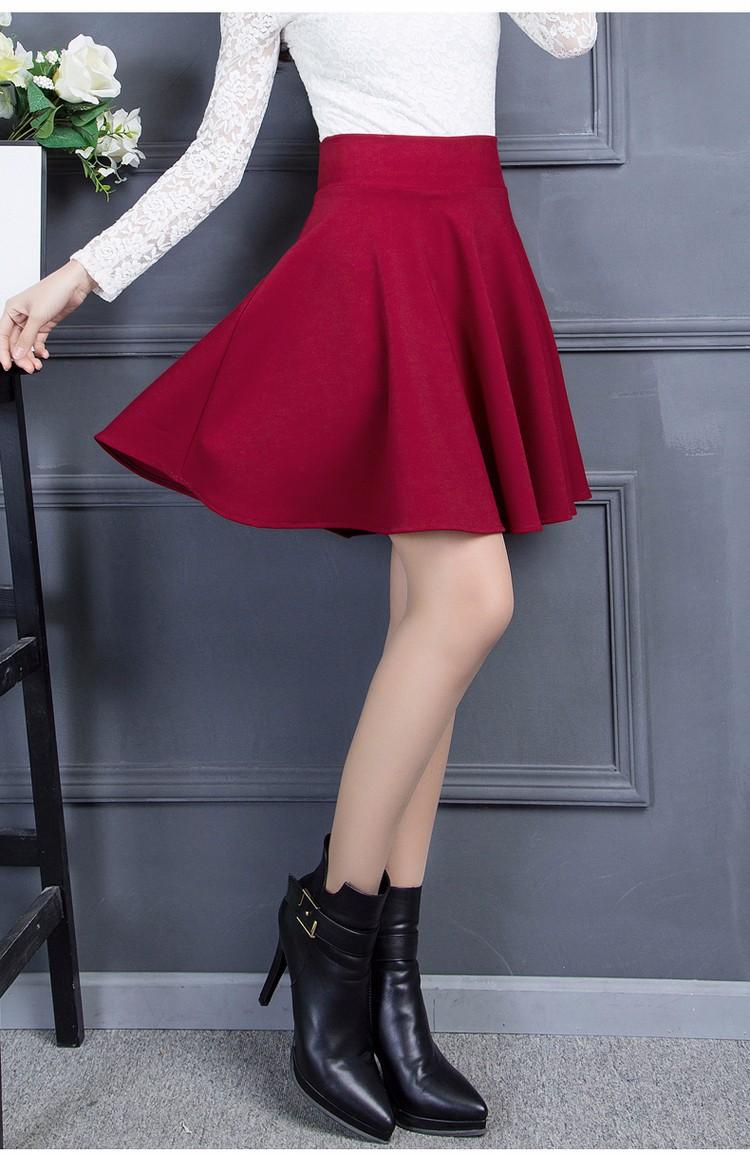 Chân váy xòe đẹp 4