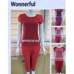Bộ đồ mặc nhà Wonnerful  - 4 màu như hình