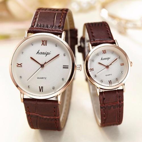 Đồng hồ đôi Kasiqi dây da cao cấp SP668 - 4151117 , 4854351 , 15_4854351 , 238000 , Dong-ho-doi-Kasiqi-day-da-cao-cap-SP668-15_4854351 , sendo.vn , Đồng hồ đôi Kasiqi dây da cao cấp SP668