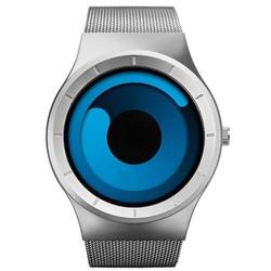 Đồng hồ nam Sinobi dây thép SI049 đại dương Trắng mặt xanh