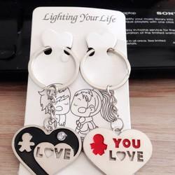 Móc khóa đôi tình yêu